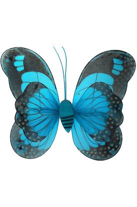 Крылья голубой бабочки