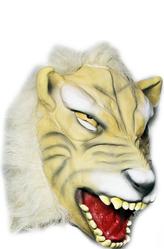 Латексные маски - Маска Свирепый тигр
