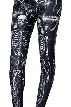 Леггинсы Скелет