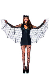 Вампиры и Дракулы - Летучая мышь с крыльями