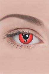 Ресницы и линзы - Линзы Дъявольский глаз