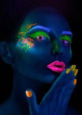 Ресницы и линзы - Линзы Фиолетовый неон
