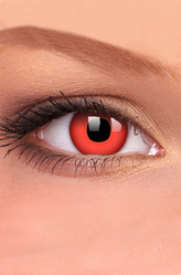 Ведьмы и Дьяволицы - Линзы Красный глаз