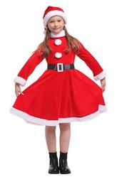 Костюмы для девочек - Костюм Любезная Санта