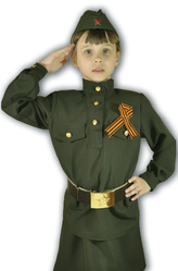 День воздушно-десантных войск - Костюм Маленькая фронтовичка