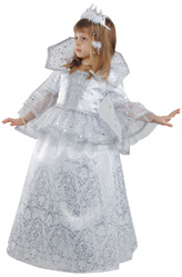 Костюмы для девочек - Маленькая Снежная Королева