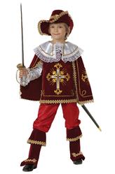 Новогодние костюмы - Маленький мушкетер бордо