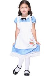 Грим для лица - Малышка Алиса