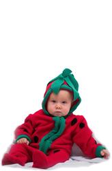 Костюмы для малышей - Малютка-клубничка