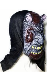 Латексные маски - Маска Безглазый демон