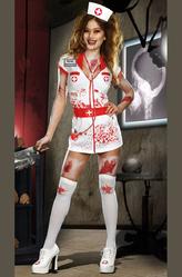 Грим для лица - Медсестра-убийца