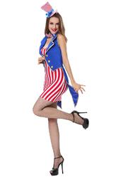 Грим для лица - Мисс Америка