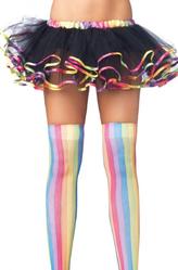 Подъюбники и юбки - Мини-юбочка с цветными краями