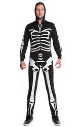 Грим для лица - Мужской скелет