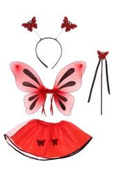 Пчелки и бабочки - Костюм Красная бабочка