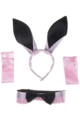 Набор розового кролика