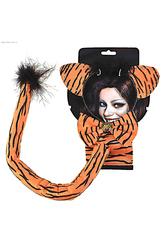 Карнавальные маски - Набор тигрицы из джунглей