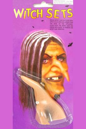 Накладной нос ведьмы