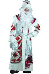 Мужские костюмы - Нарядный Дед Мороз красный
