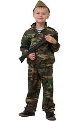 Костюмы для мальчиков - Костюм Неустрашимый солдат
