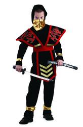VIP костюмы - Ниндзя мастер красный