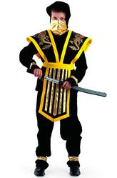Грим для лица - Ниндзя мастер желтый