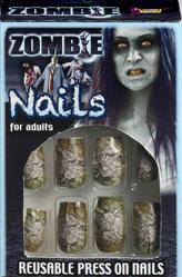 Невесты - Ногти накладные Зомби