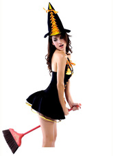 Ресницы и линзы - Очаровательная ведьмочка Сара