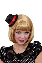 Парики и шляпы - Парик блондинки со шляпкой