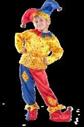 Клоун - Петрушка желтый
