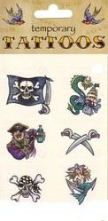 День подражания пиратам - Пиратские тату