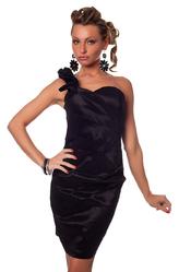 Клубные платья - Платье Черный кофе