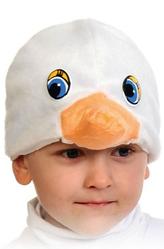 Парики и шляпы - Маска Белый гусенок