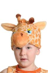 Парики и шляпы - Маска Пятнистый Жираф