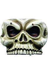 Латексные маски - Полумаска Старый череп