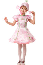 Платья для девочек - Прекрасная Дюймовочка