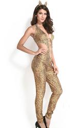 Грим для лица - Прекрасный леопард