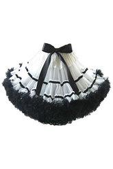 Подъюбники и юбки - Пышная черно-белая юбка