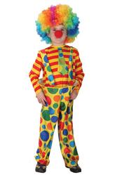Костюмы для мальчиков - Костюм Радужный клоун