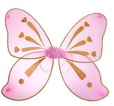 Крылья для костюма - Разноцветные крылья феи розовые