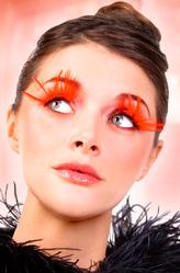 Бабочки и Пчелки - Ресницы Красный шик