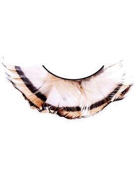Ресницы Полосатая бабочка