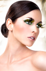 Бабочки и Пчелки - Ресницы Пятнистая бабочка