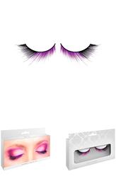 Ретро и Стиляги - Ресницы с подкруткой черно-фиолетовые