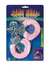 Стикини и стринги - Розовые наручники