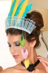Маленькие шляпки - Шляпка Индейской девушки