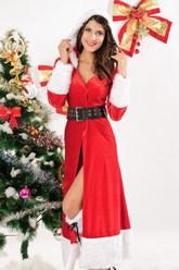 VIP костюмы - Санта в шубке