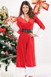 Рождество - Санта в шубке