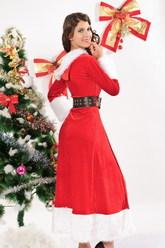 День рождения Деда мороза - Санта в шубке