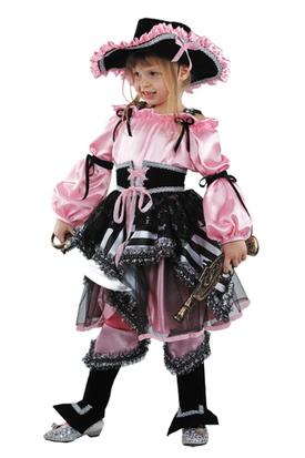 Сказочная пиратка розовый